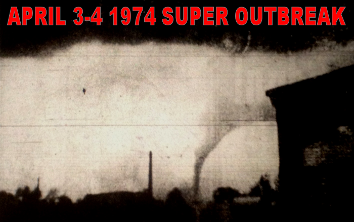 April 3, 1974 Tornado Outbreak - Nashville Tornado