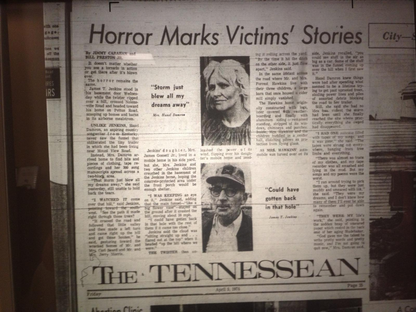 Tennessean Article