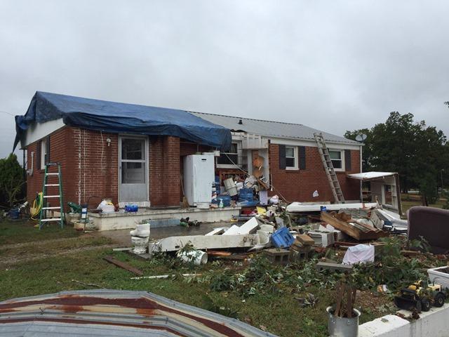 October 10 2014 Hickman County Ef1 Tornado
