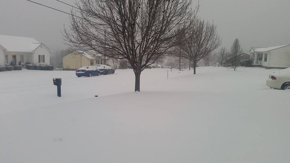 March 4-5, 2015 Snow
