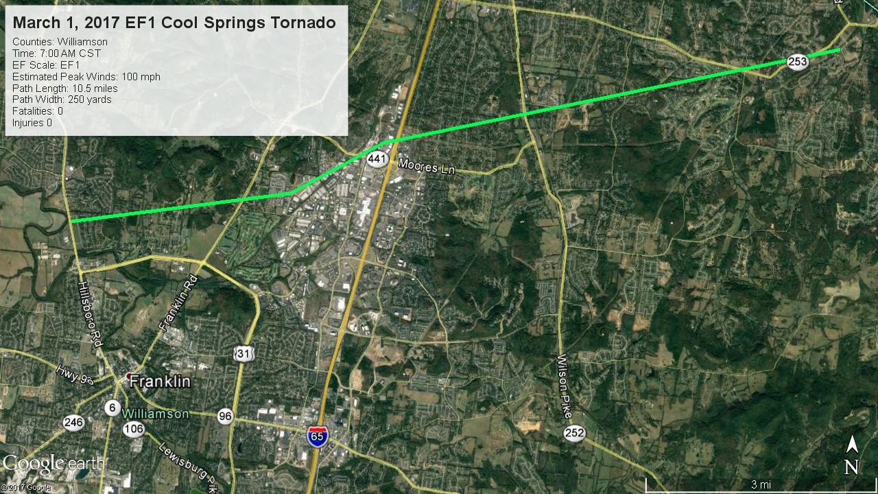 Cool Springs Map