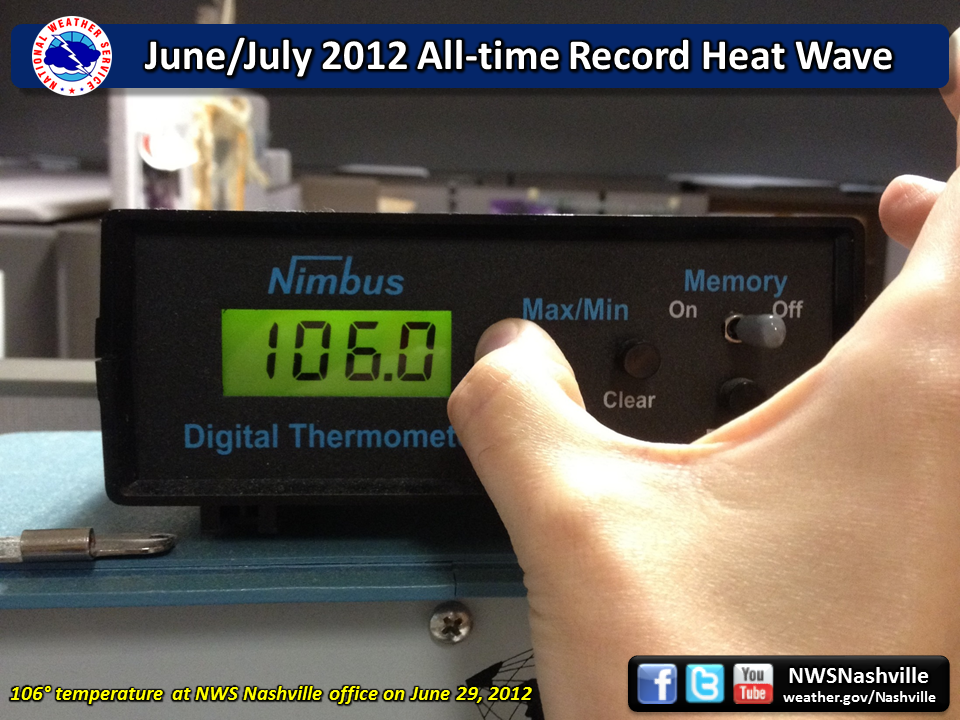 June 2012 All-time Record Heat Wave