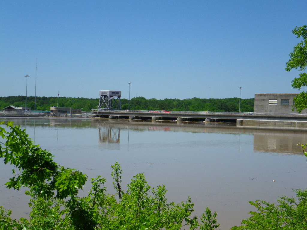 Above Old Hickory Dam