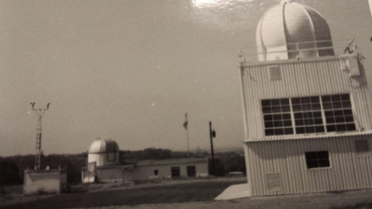 Nashville upper air building in July 1963
