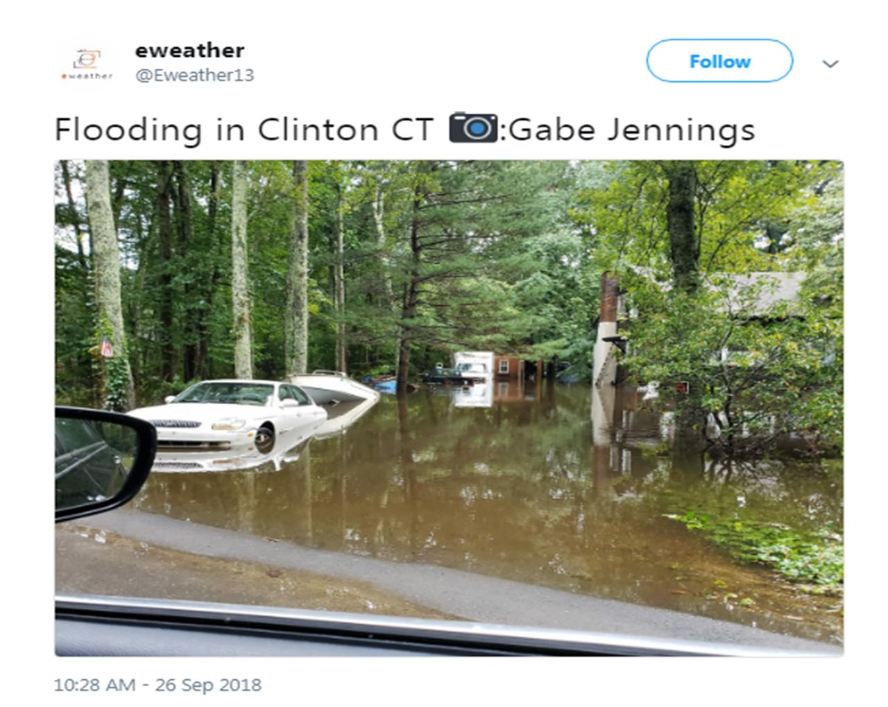 September 25, 2018 Flash Flooding