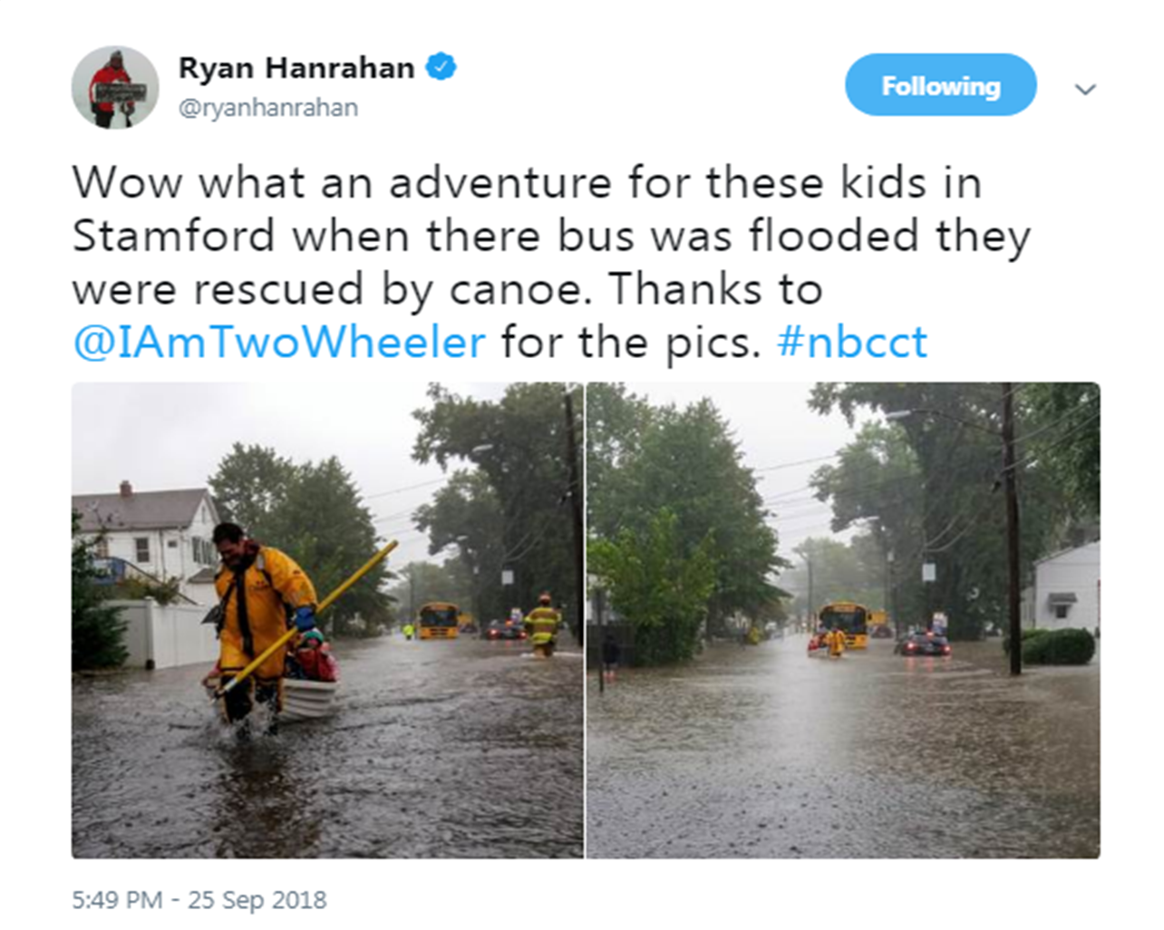 September 25, 2018 Flash Flooding