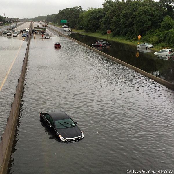 Historic Long Island Flash Flooding - August 12-13, 2014