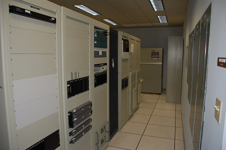 Photo of AWIPS Equipment Rack