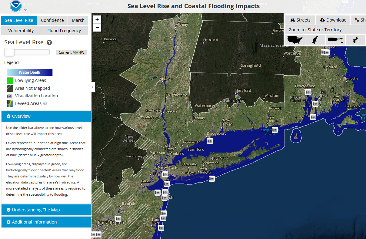 OCM Coastal Flood Viewer