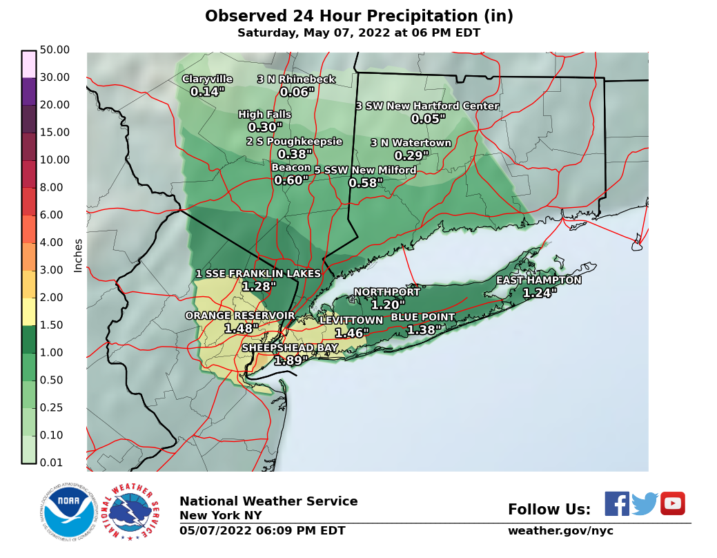 Image of 24 Hour Precipitation