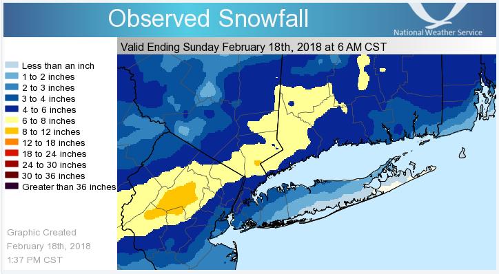 February 17-18th Snow Event