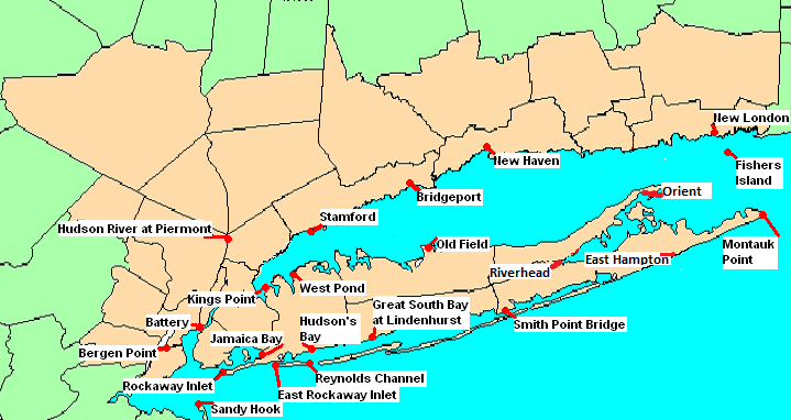 National Weather Service New York Ny Coastal Flooding Page