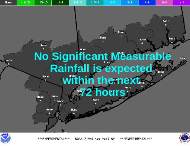 Most Likely Rainfall/Liquid Equivalent