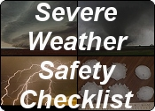 Severe Weather Safety Checklist