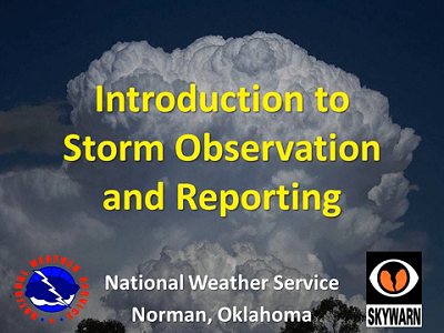 NWS Norman Storm Spotter Training Video - Introduction
