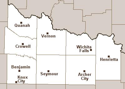 Map Of North Texas Cities.Western North Texas Tornado Information
