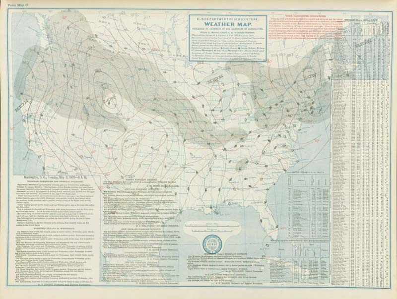 The Snyder Oklahoma Tornado Of May Maps Diagrams And Photos - Us map 1905