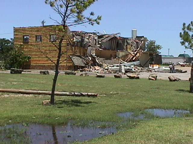 The Oklahoma City Tornadoes Of June 13 1998