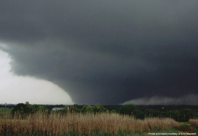 Photo of the Tornado A9 on May 3, 1999 near Bridge Creek, OK