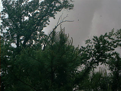 Photo of the May 8, 2003 Tornado in Choctaw, OK © John Hammond