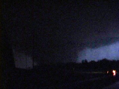 Tornado #7 Near I-35 and Britton Rd at approximately 10:45 pm CDT 5/09/2003 ©Tim Marshall