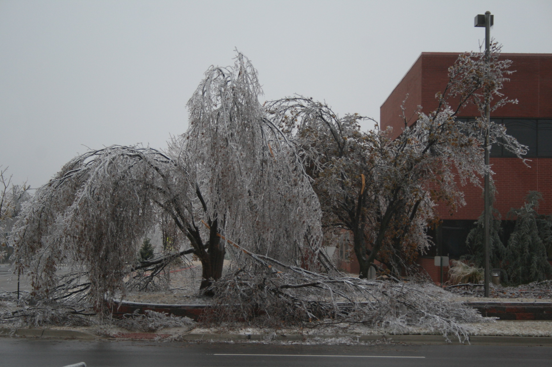 The December 8-11, 2007 Ice Storm in Oklahoma
