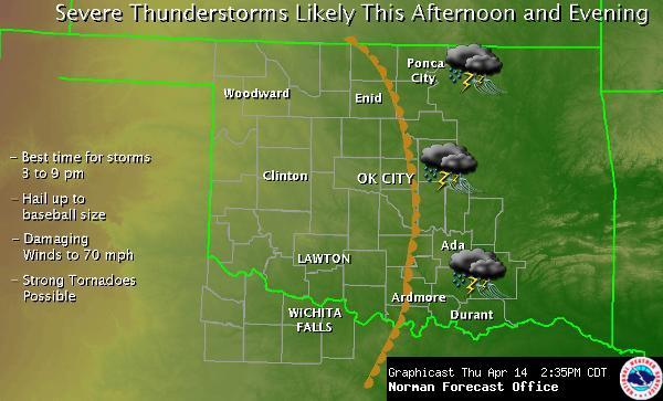 NWS Norman Graphicast