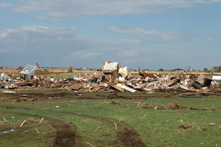 Tornado B2 Damage Photo