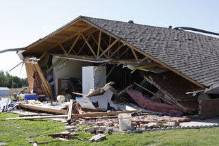 Tornado D3 Damage Photo