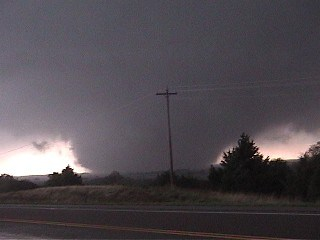Tornado near Lookeba, OK -  Photos courtesy of Dal Archer