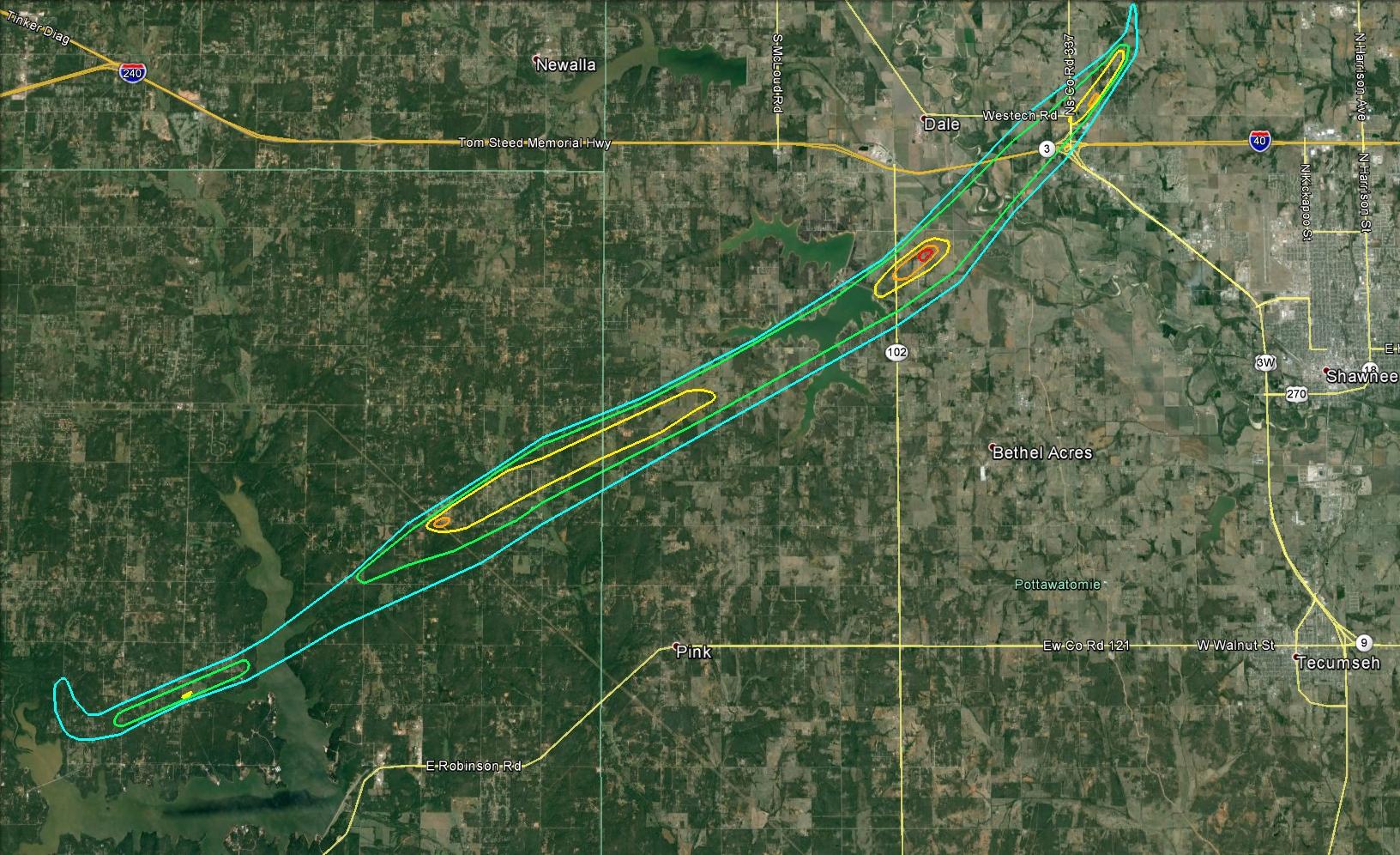 The May 19, 2013 Lake Thunderbird-Shawnee EF-4 Tornado
