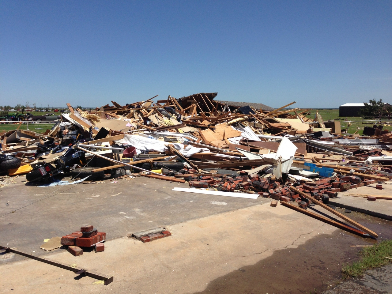 May 31, 2013 El Reno, OK Tornado Damage Photo