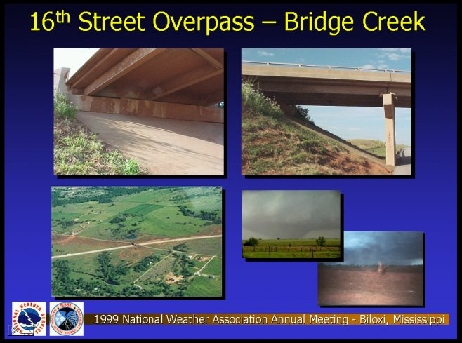 16th Street Overpass - Bridge Creek
