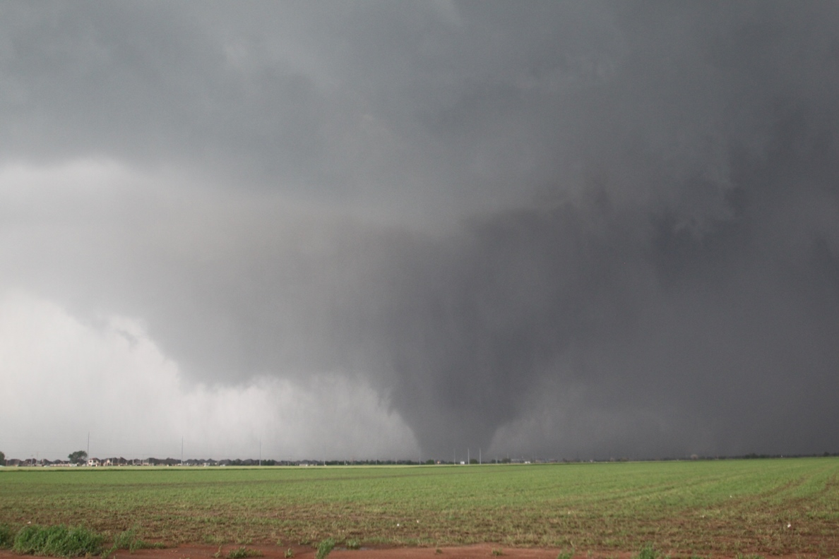 Photo of the May 20, 2013 Newcastle-South OKC-Moore EF-5 Tornado was provided courtesy of Gabe Garfield.