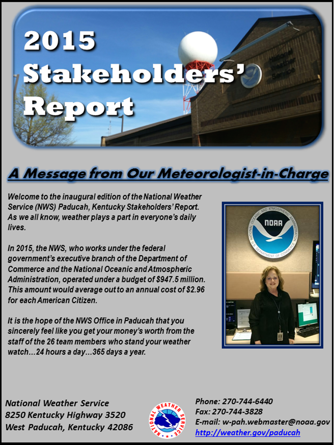 2015 Stakeholders Report
