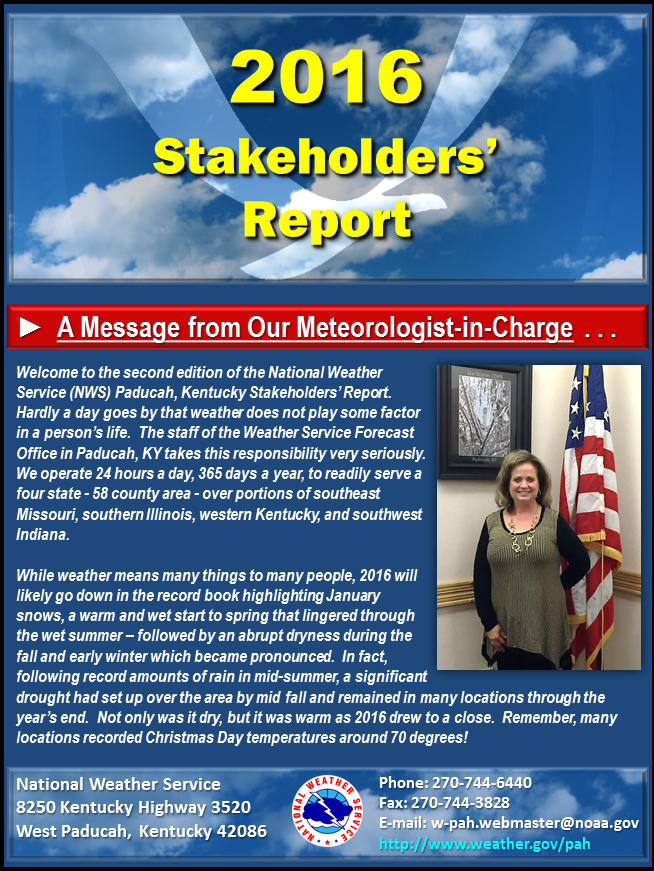 2016 Stakeholders Report