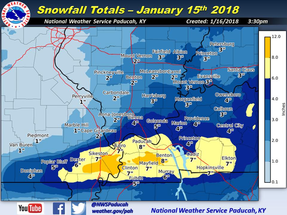 snowfall january 15 2018 snowfall january 15 2018