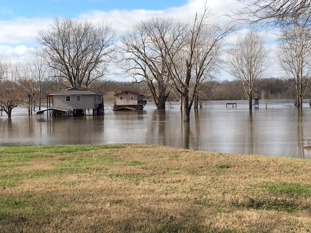 Flooding of Thebes, IL