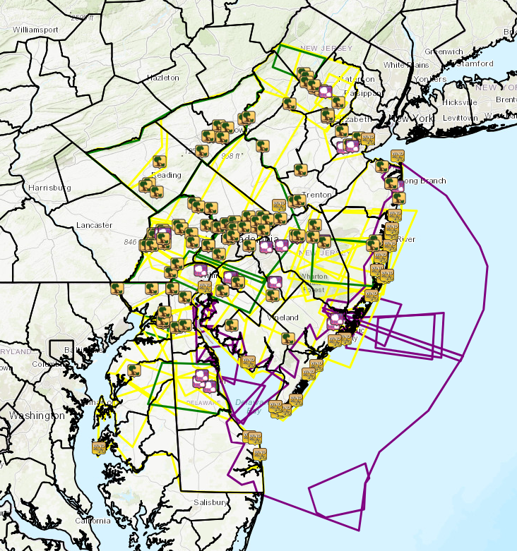 29 June 2019 Widespread Severe Storms Old Map Of Pointville Nj on