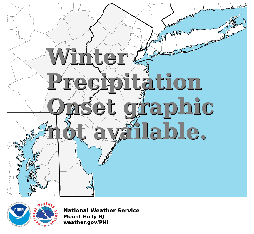 Winter Precipitation Onset
