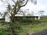 Damage from Tropical Cyclone Heta