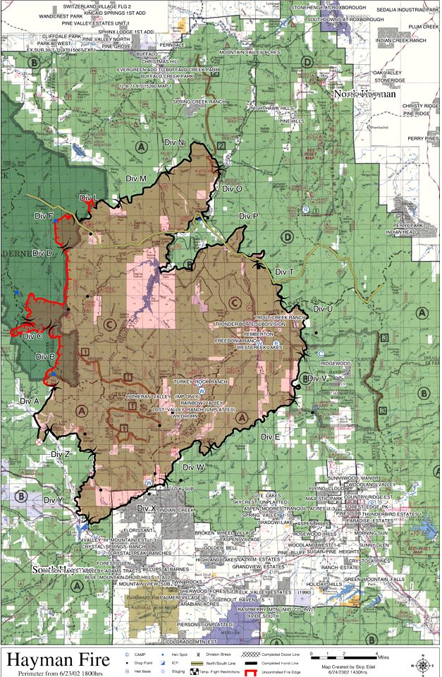 Nws Pueblo Co Hayman Wildfire