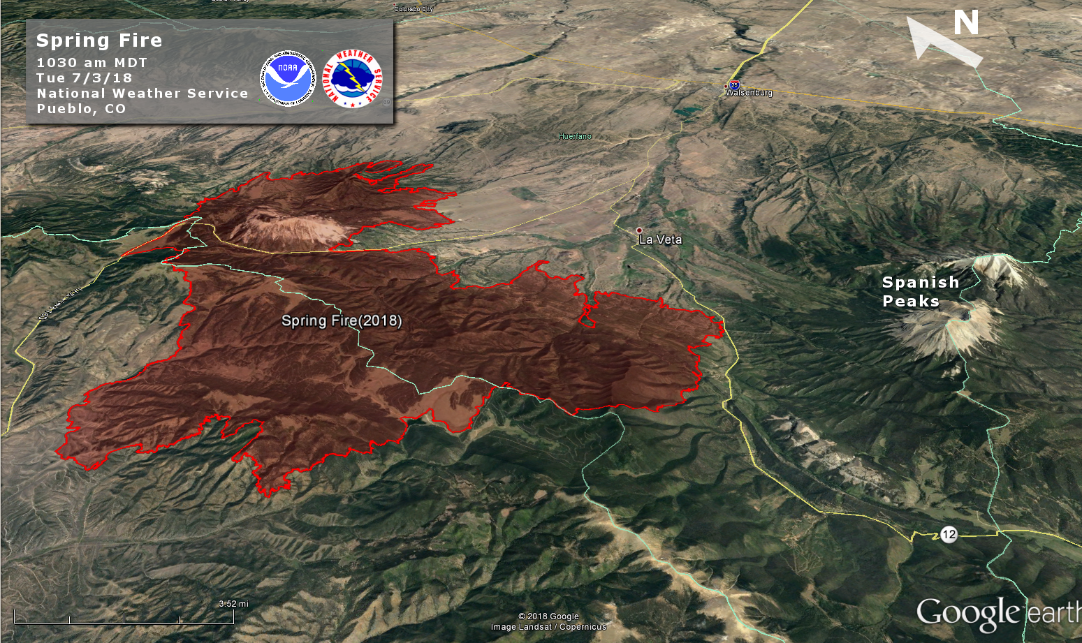 Spring Wildfire Decision Support Information Page