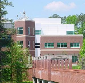 exterior view of NWS Raleigh forecast office building