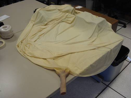 Standard National Weather Service Weather Balloon Pre-inflations