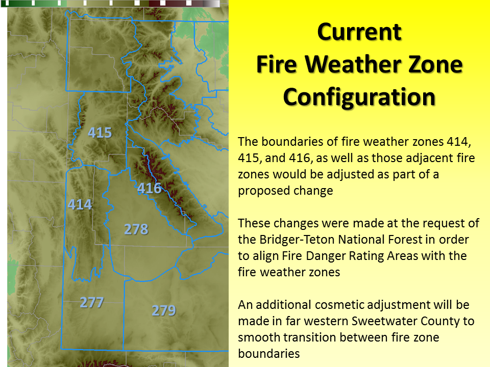 western wyoming fire weather zone boundaries to change june 25