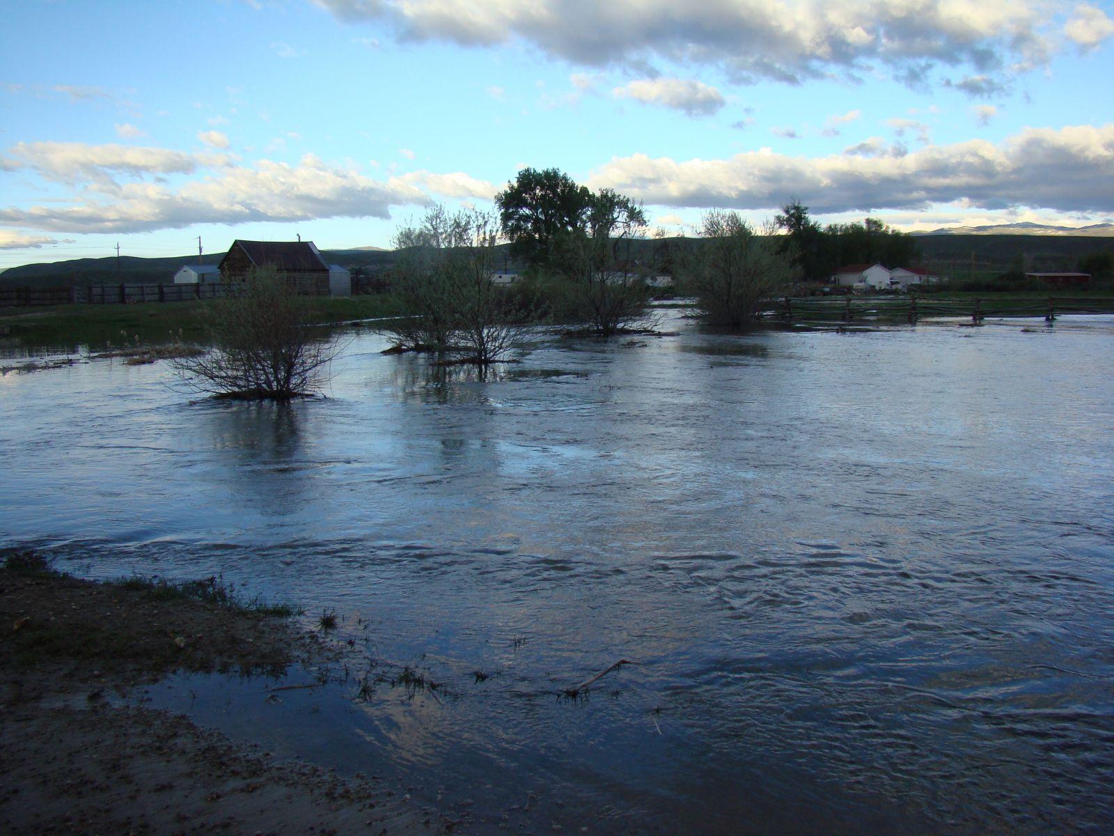 June 2010 Wind River Basin Flooding