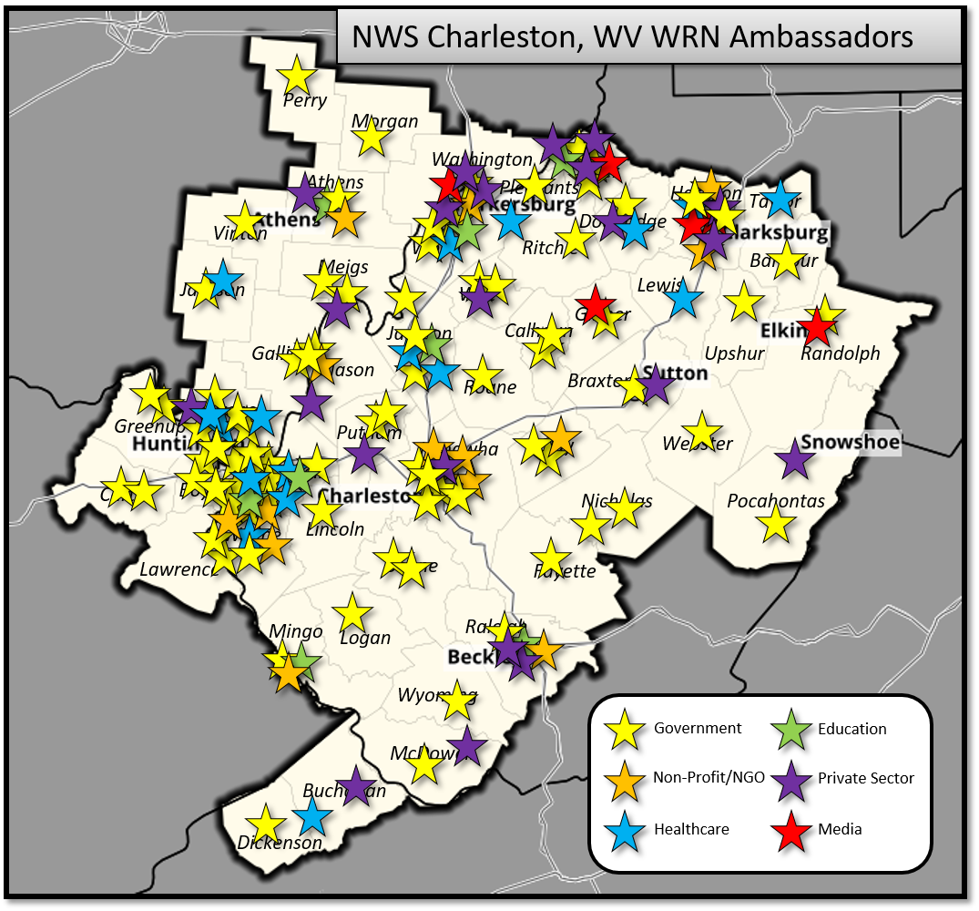 Nws Charleston Wv Weather Ready Nation Ambassadors