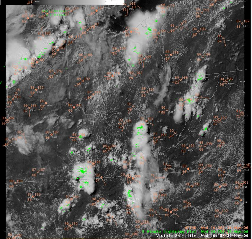 Visible Satellite Image