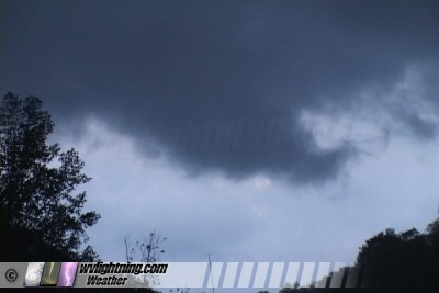 Possible funnel cloud south of Madison, WV